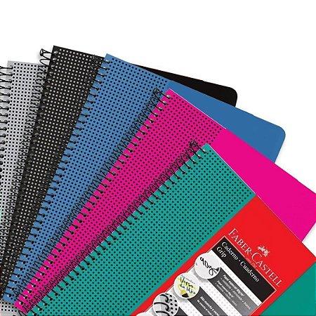 Caderno Grip 90g/m² Faber Castell 80 folhas