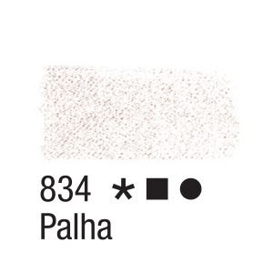 Tinta para tecido 37ml Acrilex 834 Palha