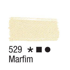 Tinta para tecido 37ml Acrilex 529 Marfim