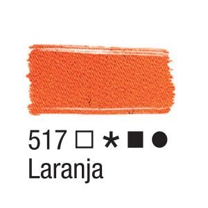 Tinta para tecido 37ml Acrilex 517 Laranja