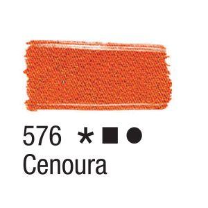 Tinta para tecido 37ml Acrilex 576 Cenoura