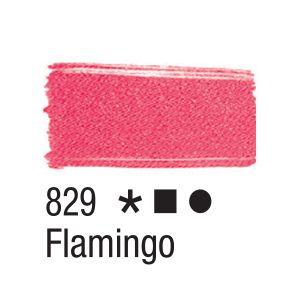 Tinta para tecido 37ml Acrilex 829 Flamingo