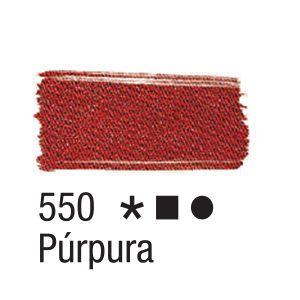 Tinta para tecido 37ml Acrilex 550 Púrpura