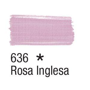 Tinta para tecido 37ml Acrilex 636 Rosa Inglesa