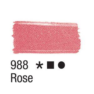 Tinta para tecido 37ml Acrilex 988 Rose