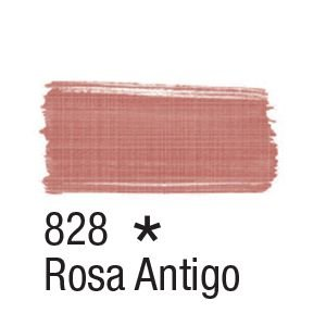 Tinta para tecido 37ml Acrilex 828 Rosa Antigo