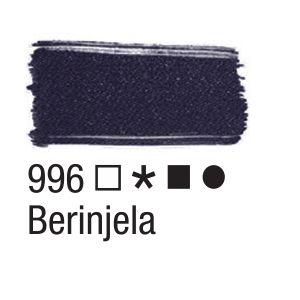 Tinta para tecido 37ml Acrilex 996 Berinjela