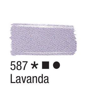 Tinta para tecido 37ml Acrilex 587 Lavanda