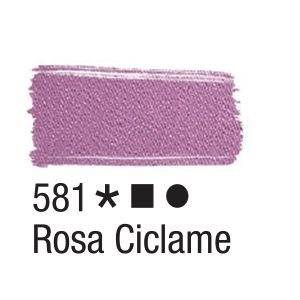 Tinta para tecido 37ml Acrilex 581 Rosa Ciclame