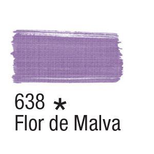 Tinta para tecido 37ml Acrilex 638 Flor de Malva