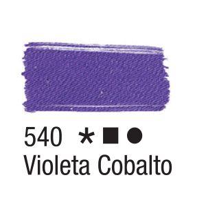 Tinta para tecido 37ml Acrilex 540 Violeta Cobalto