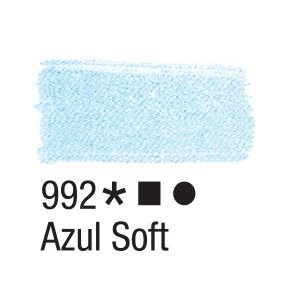 Tinta para tecido 37ml Acrilex 992 Azul Soft