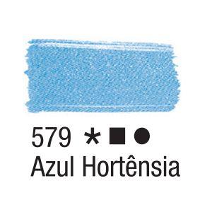 Tinta para tecido 37ml Acrilex 579 Azul Hortênsia