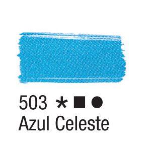 Tinta para tecido 37ml Acrilex 503 Azul Celeste