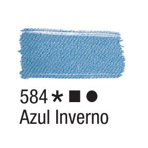 Tinta para tecido 37ml Acrilex 584 Azul Inverno
