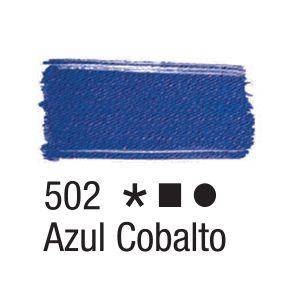 Tinta para tecido 37ml Acrilex Azul Cobalto