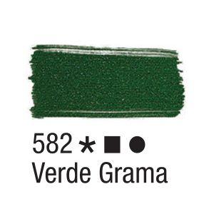 Tinta para tecido 37ml Acrilex 582 Verde Grama