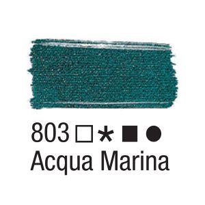 Tinta para tecido 37ml Acrilex 803 Acqua Marina
