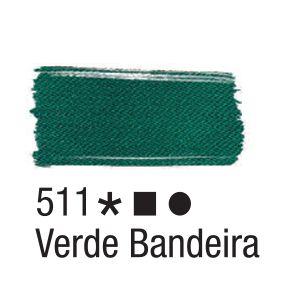 Tinta para tecido 37ml Acrilex 511 Verde Bandeira