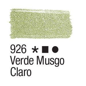 Tinta para tecido 37ml Acrilex 926 Verde Musgo Claro