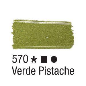 Tinta para tecido 37ml Acrilex 570 Verde Pistache