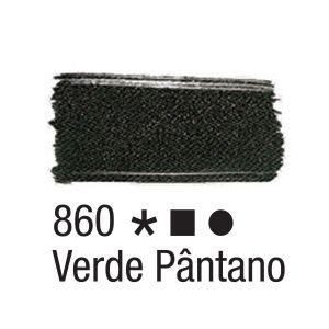 Tinta para tecido 37ml Acrilex 860 Verde Pântano