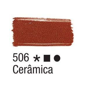 Tinta para tecido 37ml Acrilex 506 Cerâmica