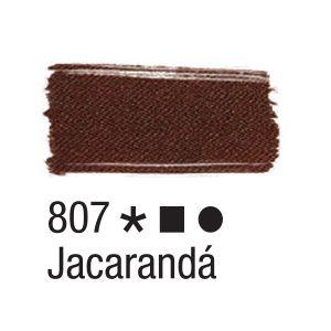 Tinta para tecido 37ml Acrilex 807 Jaracandá