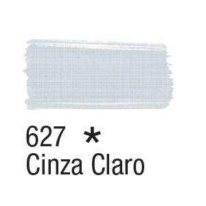 Tinta para tecido 37ml Acrilex 627 Cinza Claro