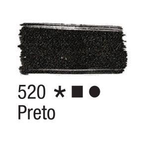 Tinta para tecido 37ml Acrilex 520 Preto