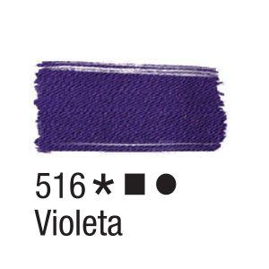 Tinta para tecido 37ml Acrilex 516 Violeta