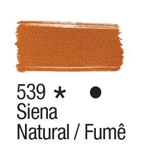 Tinta para tecido 37ml Acrilex 539 Siena Natural