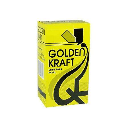 Clips para papel nº 6/0 Golden Kraft 25 unidades
