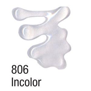 Tinta Dimensional 3D Acrilex Brilliant 806 incolor