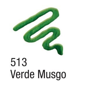 Tinta Acripuff 35ml Acrilex 513 Verde Musgo