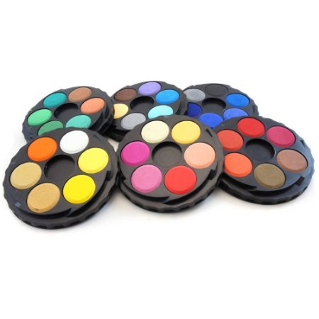 Aquarela em pastilhas Koh I Noor 36 cores