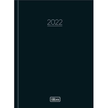 Agenda Costurada Diária 2022 12,3 X 16,6 cm Tilibra