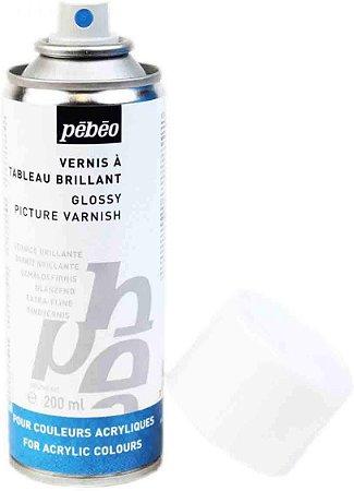 Verniz Spray Acrílico Brilhante 200ml Pebeo