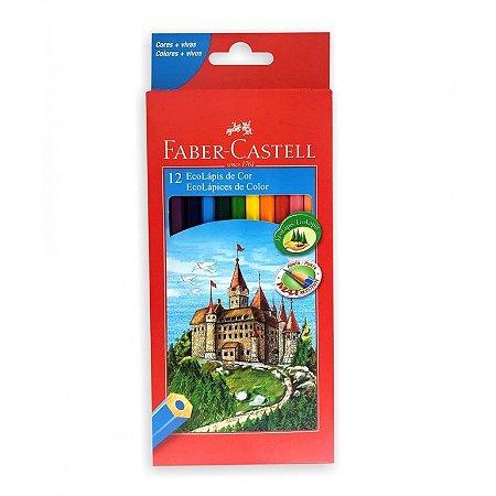 Lapis de cor Faber Castell 12 cores