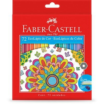 Lapis de cor Faber Castell 72 cores