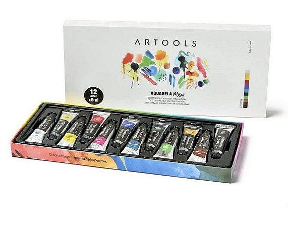 Aquarela Misci Artools 6ml 12 cores