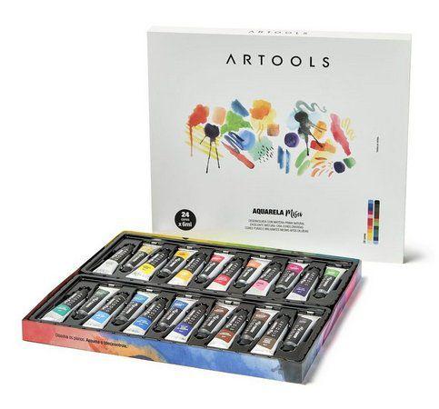 Aquarela Misci Artools 6ml 24 cores