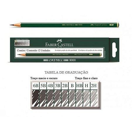 Lapis Regent preto para desenho Faber Castell