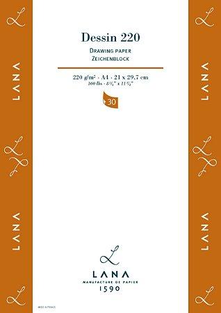 Papel Lana Dessin 220 g/m² Hahnemuhle 30 folhas