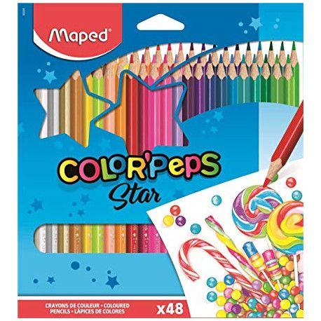 Lapis de cor Color Peps Star Maped 48 cores