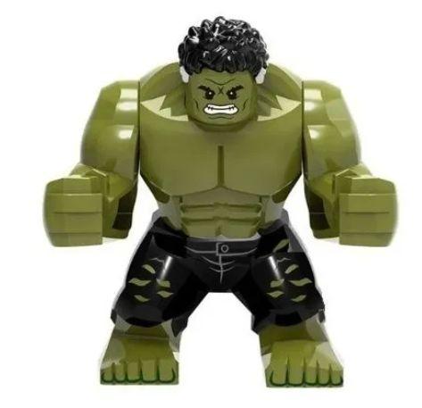 Hulk big esmaga - Herói Marvel em Blocos de Montar