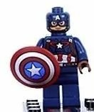 Capitão América o primeiro Vingador em blocos de montar