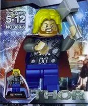 Thor o Deus do Trovão em blocos de montar