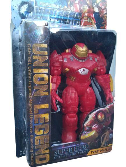 Homem de Ferro com a armadura Hulk Buster