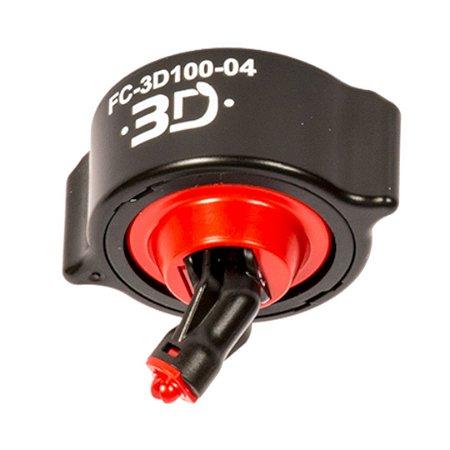 Bico de Pulverização HYPRO 3D Conjunto Completo (Vermelho) | FC-3D100-04